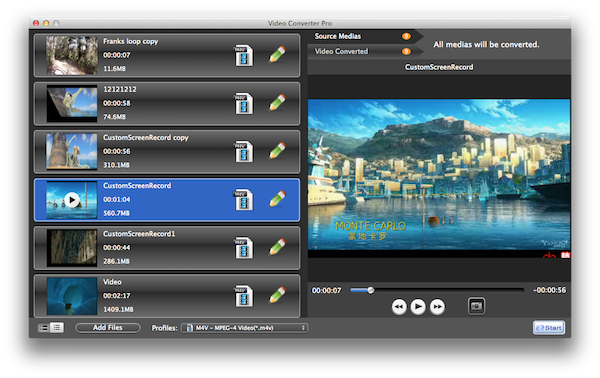 Video Converter Pro | Greatdy Software